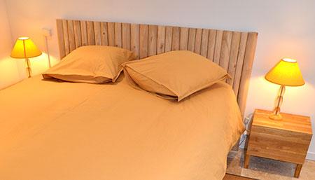 chambre d'hôtes jaune
