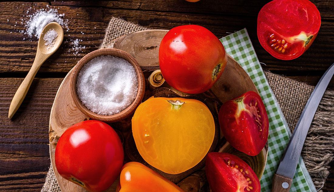 cuisine de terroir avec des produits frais et de saison