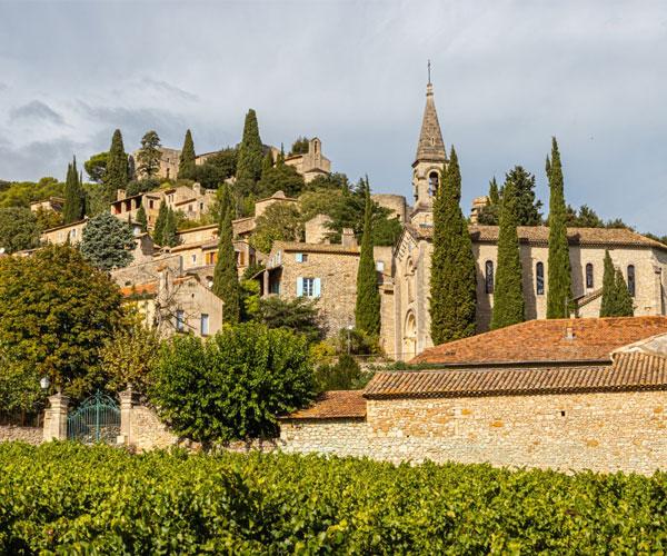 Roque sur Cèze, classé plus beaux villages de France