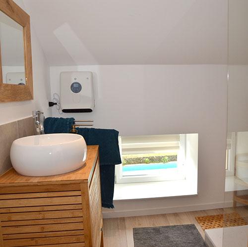 salle de bain privative tout confort